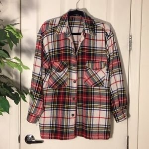 Jackets & Blazers - 💗Women's warm plaid shirt to wear like a coat